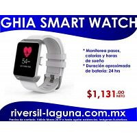 SMARTWATCH GHIA BLANCO