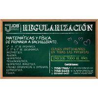 CLASES DE REGULARIZACIÓN EN TODAS LAS MATERIAS