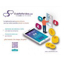 ClubReferidos.com Una APP para ganar dinero con tus Redes Sociales y tu Celular