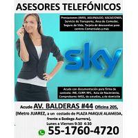 ATENCIÓN A CLIENTES ( SKY ) ASESORES TELEFONICOS