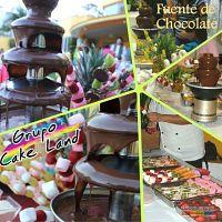 Chocolate, Fuente con chocolate