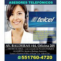 BACK OFFICE TELCEL EN ATENCIÓN A CLIENTES MATUTINO / VESPERTINO