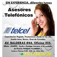 EJECUTIVOS TELEFONICOS ATENCION A CLIENTES TELCEL