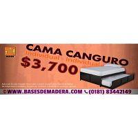 CAMAS CANGURO 100% MADERA DE PINO
