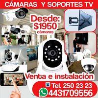 En Morelia Instalación y Venta de Cámaras de seguridad y Soportes para TV   Servicio profesional alg