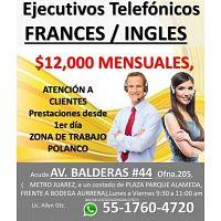 ATENCIÓN A CLIENTES VÍA TELEFÓNICA BILINGUE