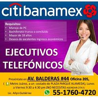 ASESOR DE  CALL CENTER  MEDIO TIEMPO CITIBANAMEX