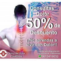 Clínica del dolor COMEDEM - Consulta por dolor