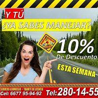 CLASES DE MANEJO APARTA EL TUYO!