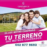 Terrenos Habitacionales en Querétaro