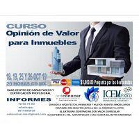 CURSO: OPINIÓN DE VALOR PARA INMUEBLES