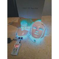 Mascarilla Facial led antiedad 7 colores con control