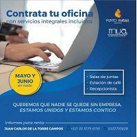 RENTA DE OFICINAS EN COL. CUAUHTEMOC CON PROMOCION