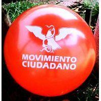 PELOTAS DE PVC CON PUBLICIDAD POLITICA